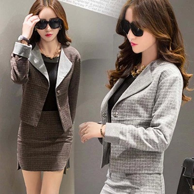 Women-Business-Suits-Formal-Office-Suits-Work-2015-Autumn-New-Blazer-Skirts-Two-Siuts-High-Quality (1)