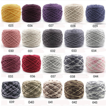 10 Pcs / Lot Cotton Silk milk cotton hand knitting yarn laine a tricoter vente en gros thick for scarf