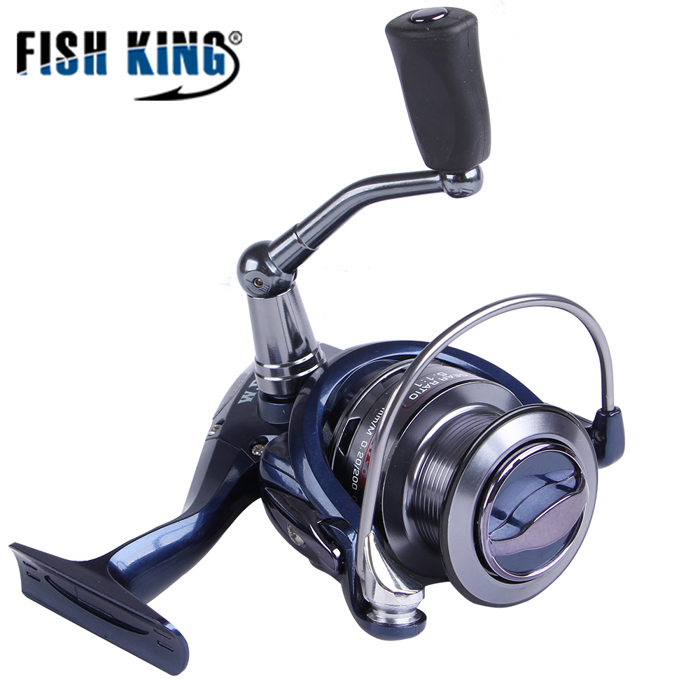 FISH KING W11 30F 40F Spinning Fishing Reel 5 5 1 High Speed 9 1 BBs