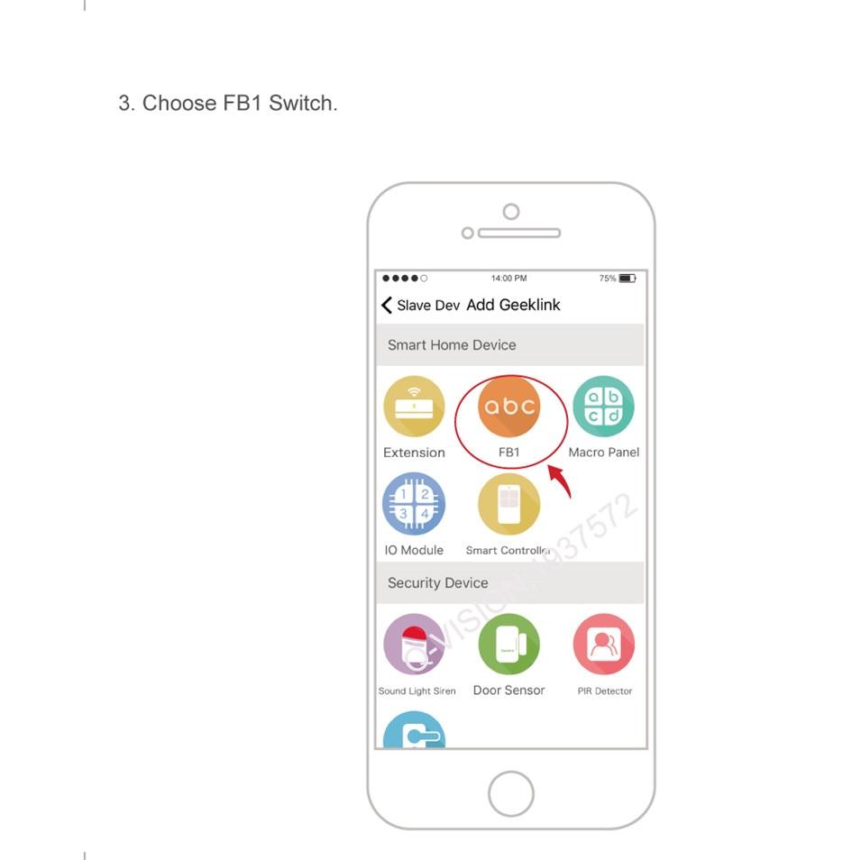 New Geeklink Us 118 Two Way Feedback Switch Wifi Touch Sensor Remote Control 1gang 2gang 3gang