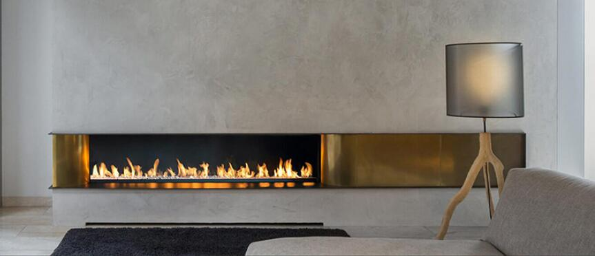24 Inch Automatic Intelligent Smart Real Flame Electric Fireplace Insert