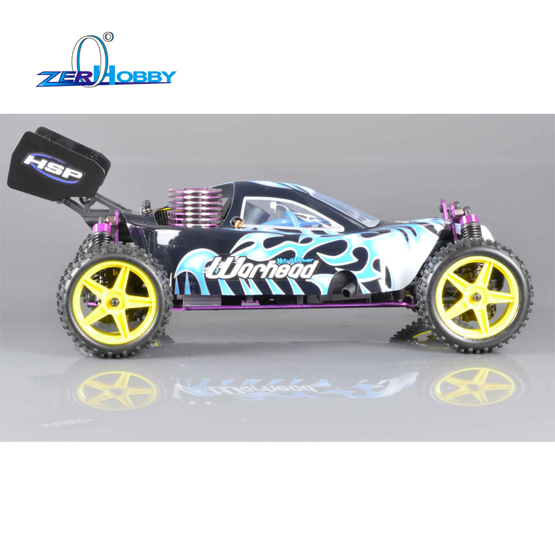 HSP Rc Car 1/10 Scale Nitro Power 4wd Remote Control Car 94106 Off Road Buggy High Speed Hobby Car Similar REDCAT HIMOTO Racing 02023 clutch bell double gears 19t 24t for rc hsp 1 10th 4wd on road off road car truck silver