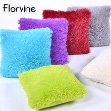 Long Plush Decorative Cushion Cover Pillow Home Decor Fur Pillow Case Bedroom Sofa Kussenhoes Sierkussen capa para almofada цены