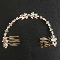 Mariée filaire cristal strass mariage cheveux peigne chaîne cheveux accessoires bandeau mariée bandeau demoiselles d'honneur bijoux femmes
