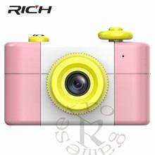 Câmera Digital SLR Pequeno caçoa o Presente dos desenhos animados Para Crianças Câmera Câmeras Com Adesivos de Entretenimento crianças Presentes de Aniversário Xmas