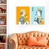 Tableau décoratif style abstrait 1