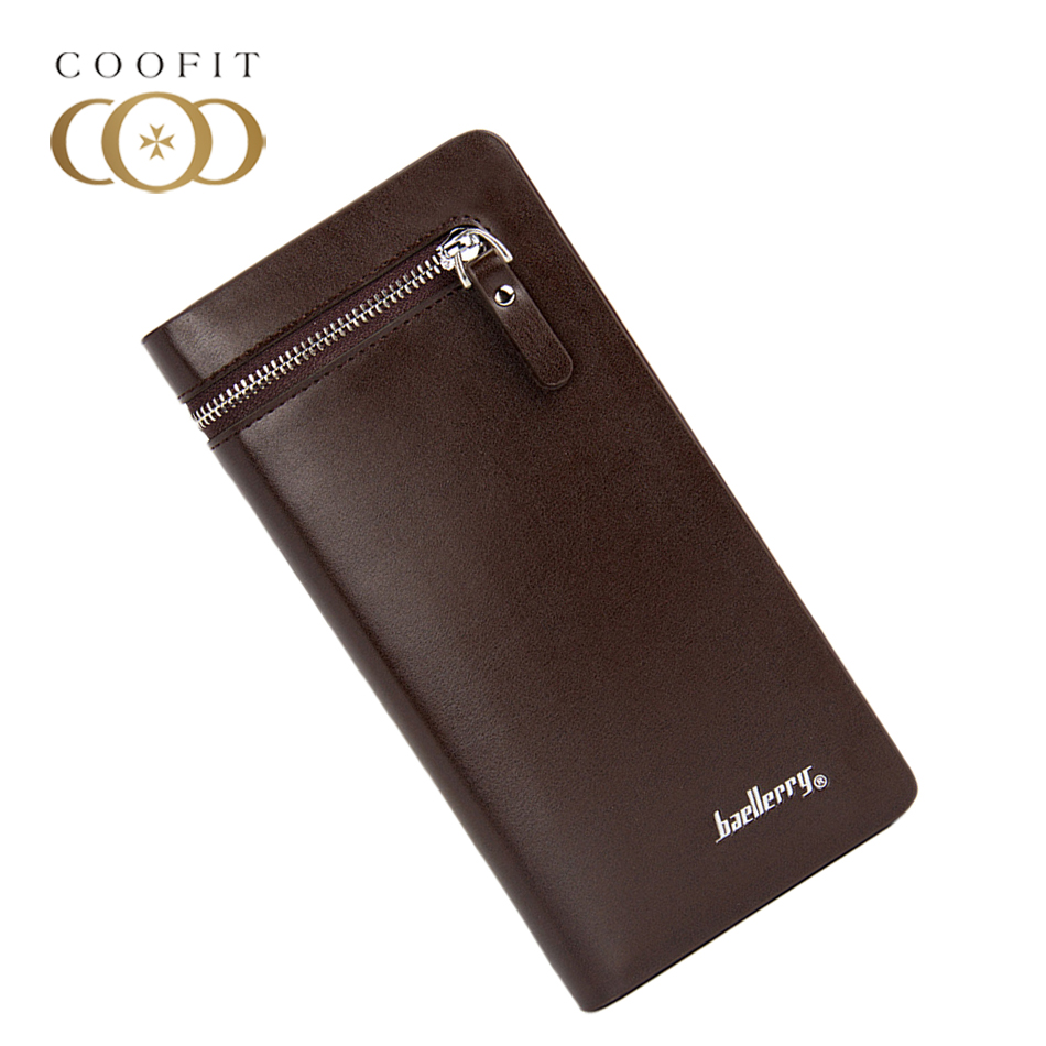 Coofit 2017 luxury mens small wallet, man monederos short wallets clutch men, business baellery men visiting cards purse male