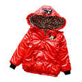 2016 Mickey Girls Down Coats Thick Warm Baby Girls Padded Jackets Long Sleeve Children Down Jackets For Kids Girls Snowsuit