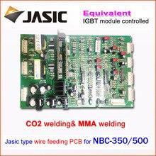 Главная панель управления NBC350/500 IGBT модуль управления газовой сварки материнская плата ремонт замена