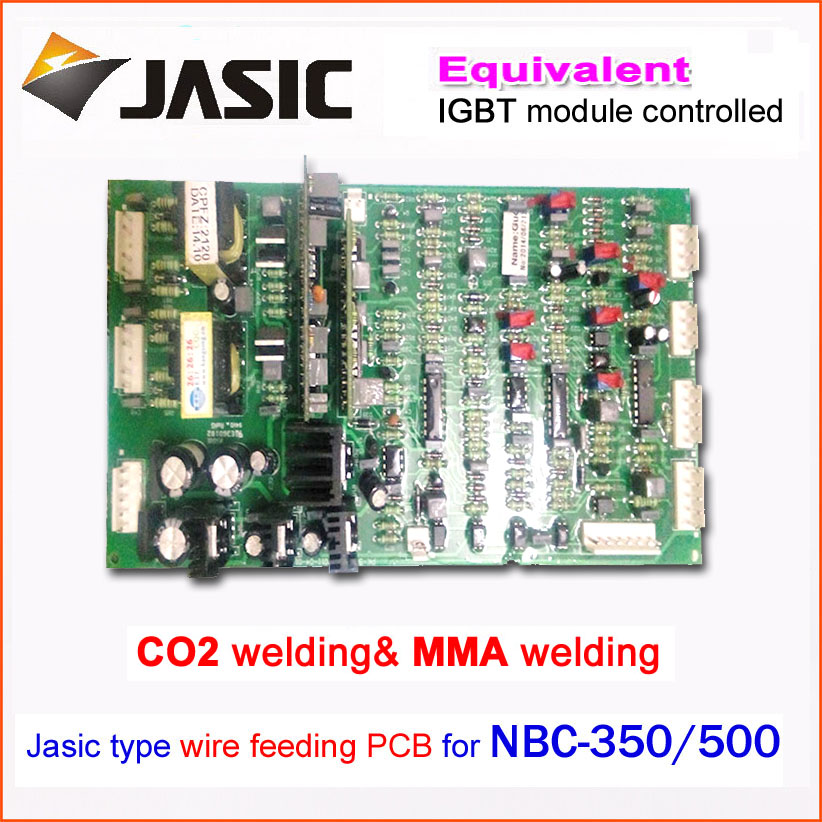 Main control drive panel board NBC350/500 IGBT module control gas welding motherboard repair replacement