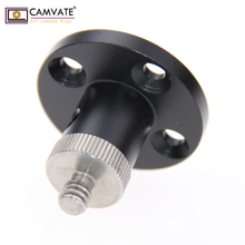 CAMVATE Wall/Ceiling /Table /podium Mount Base With standard 1/4