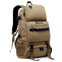 LOCAL LION Mountainteering Backpack Climbing Bag Rucksack Men s Hiking Camping Backpack Waterproof Tactical Backpacks 40L