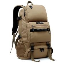 LOCAL LION Mountainteering Backpack Climbing Bag Rucksack Men's Hiking Camping Backpack Waterproof Tactical Backpacks 40L HT065