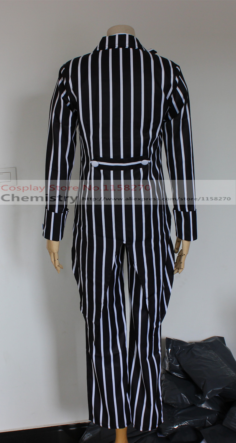 The Nightmare Before Christmas Jack Skellington Cosplay Costume on ...