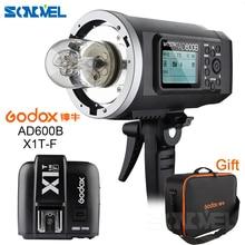 Godox 2.4G Wireless AD600B Bowen Mount TTL Flash Speedlite +X1T-F Trigger for Fuji X-Pro2,X-T20,X-T2,X-T1,X-Pro1,X-T10,X-E1,X-A3