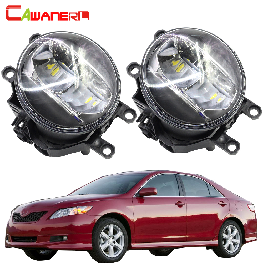Cawanerl Car 4000LM Fog Light LED Daytime Running Light DRL White H11 12V For Toyota <font><b>Camry</b></font> 2006 2007 <font><b>2008</b></font> 2009 2010 2011 2012 image