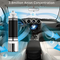 NEW 12V Mini Car Air Purifier Air Fresheners Product Ionizer Cleaner Smoke Dust PM2 5 Remover