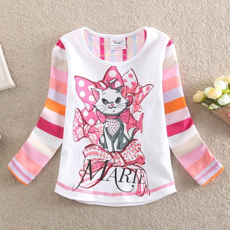 HTB1n kjSFXXXXcDXFXXq6xXFXXXs - Girls Long Sleeve All Year T-Shirt, Long Sleeve, Cotton, Various Designs and Prints