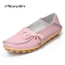 plardin 2019 Women Flats Shoes Woman Loa