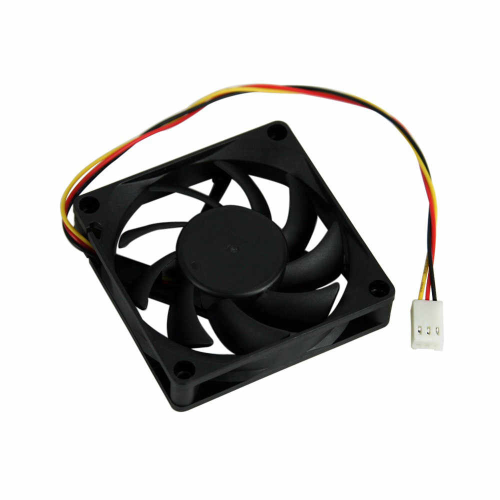 Quiet 7cm/70mm/70x70x15mm 12V Computer/PC/CPU Silent Cooling Case Fan O.15