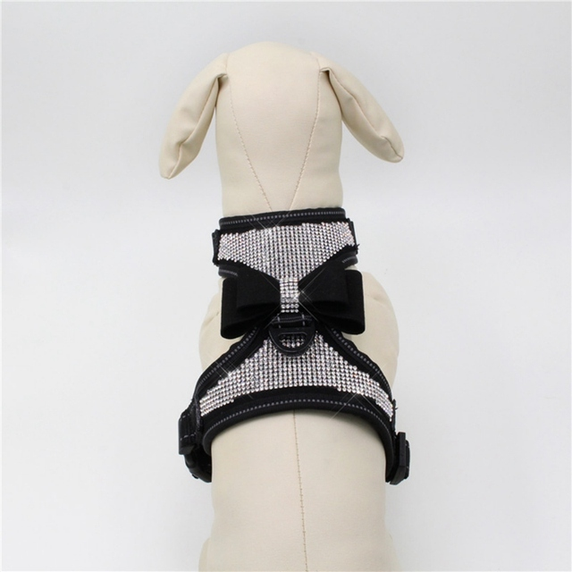 Adjustable Puppy Bow Harness