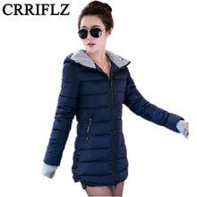 2016 New Wadded Jacket Female Women Winter Jacket Down Cotton Coat Slim Parkas Ladies Plus Size Womens Jackets And Coats TD2