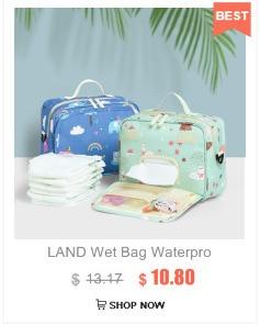 HTB1n l8btjvK1RjSspiq6AEqXXa5 Drop Shipping Lequeen Nursing Care Baby Bag Stripe Diaper Bag Nappy Bag Organizer Waterproof Maternity Bag