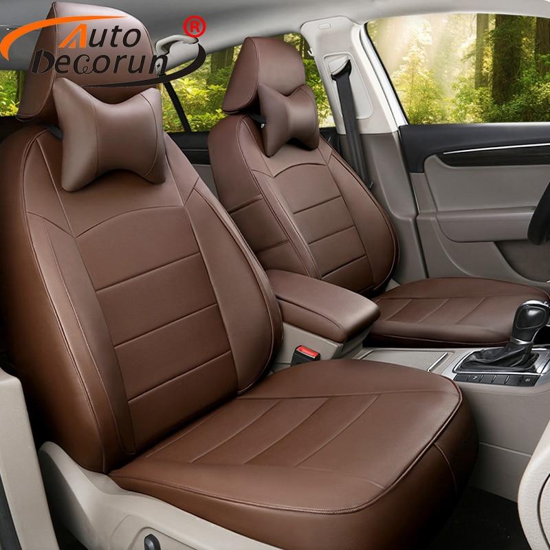 Autodecorun пользовательских подходят чехлы на сиденья для Infiniti JX35 аксессуары Искусственная кожа сидений автомобилей подушки сиденья поддержив