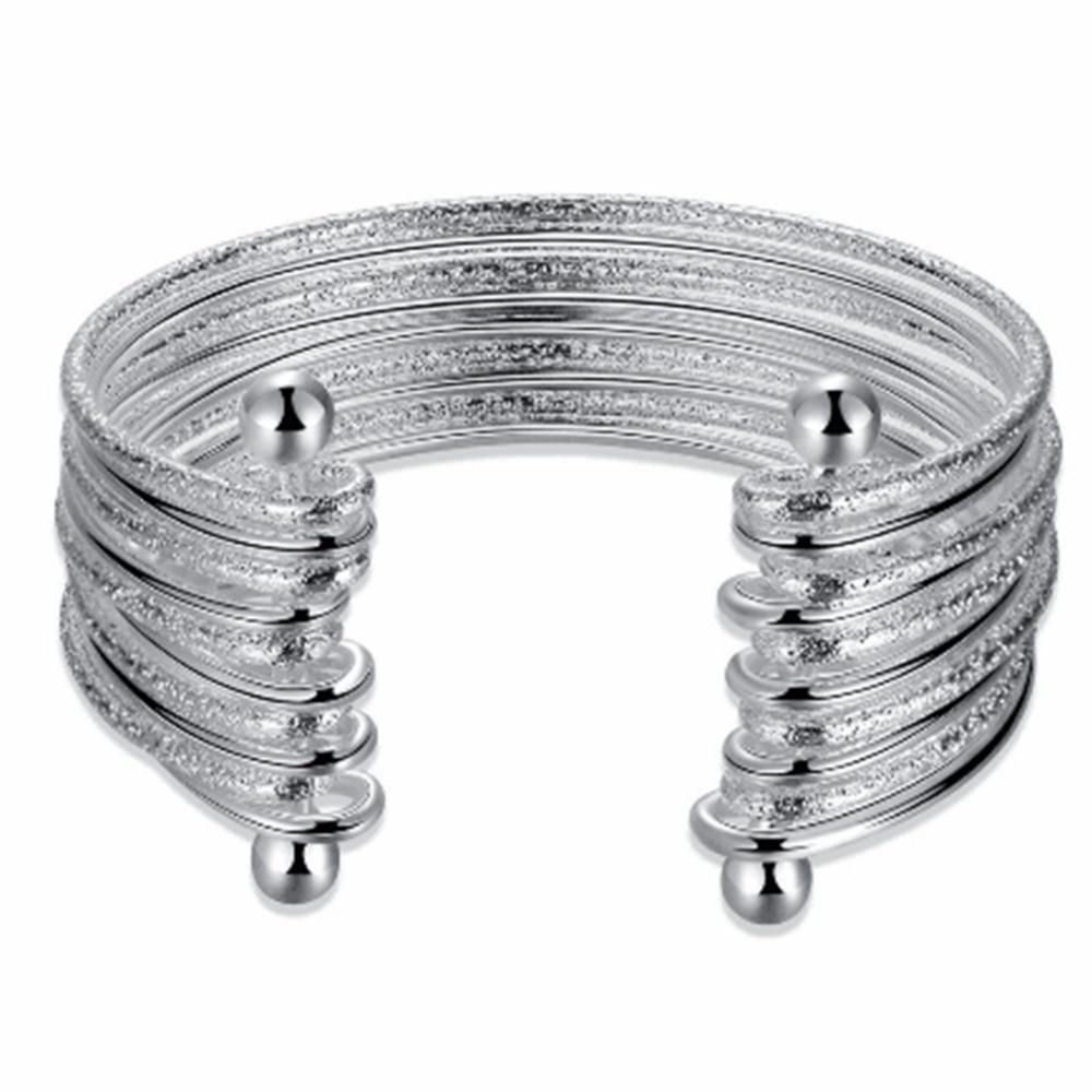 925 ezüst karkötő divat ékszer európai amerikai szél ezüst - Finom ékszerek
