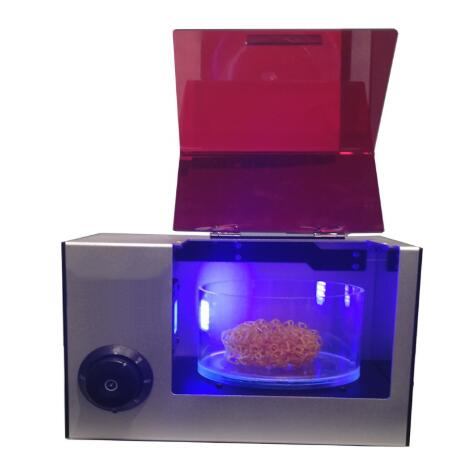 3D printer UV curing machine 400-405nm wavelength UV curing box for DLP/LCD/ SLA resin 3D printer users Jewelry/Dentistry3D printer UV curing machine 400-405nm wavelength UV curing box for DLP/LCD/ SLA resin 3D printer users Jewelry/Dentistry