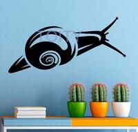 Snail Wall Decal Snail Shell Vinyl Sticker Home Interior Wall Graphics Design Art Wall Murals Bedroom Decor H57cm x W121cm