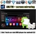 7 polegada 2 din Android 6.0 Car DVD GPS Radio RDS Wi-fi 4G LTE SIM Quad Core tela de toque AM FM para F-iat B/ravo 2007-2012