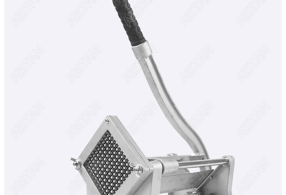 ST1 commerical manual aluminum die-casting potato chipper cutter potato chips cutting machine 6