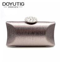 Women New Evening Bag Luxury Colorful Wedding Party Bag Diamond Rhinestone Clutches Crystal Bling Grey Clutch Bag Purses A132