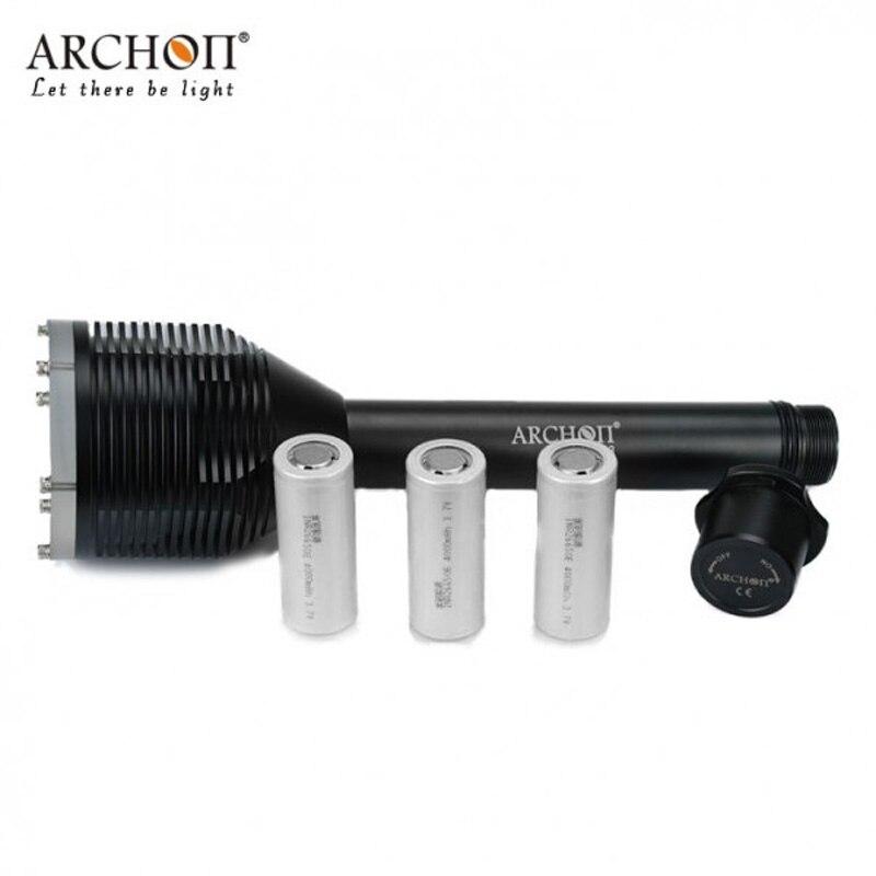 Archon D33 W39 Дайвинг фонарик Водонепроницаемый 100 м подводных * XM L2 U2 светодио дный 3000 люмен Дайвинг Фонарь с аккумулятором