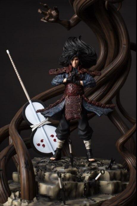 все цены на MODEL FANS IN-STOCK NARUTO Dstudio 56cm Uchiha Madara Wood Dragon GK resin made contain led light figure toy for Collection онлайн