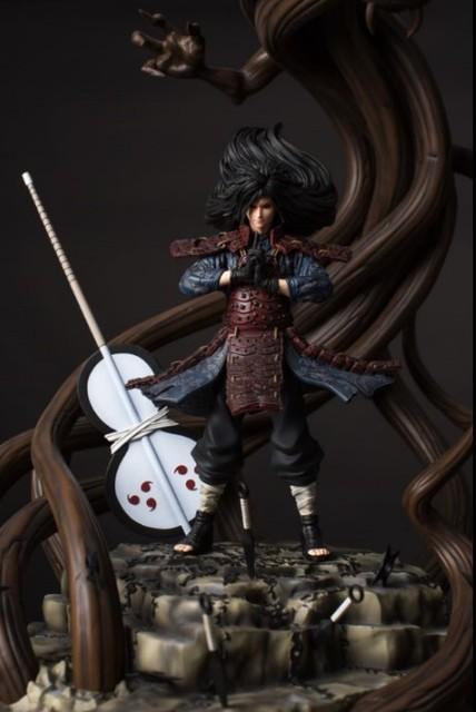 model fans in stock naruto dstudio 56cm uchiha madara wood dragon gk