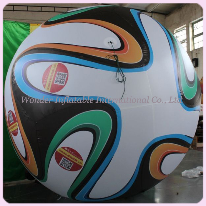 Most popular font b sports b font 10ft giant inflatable football for advertising