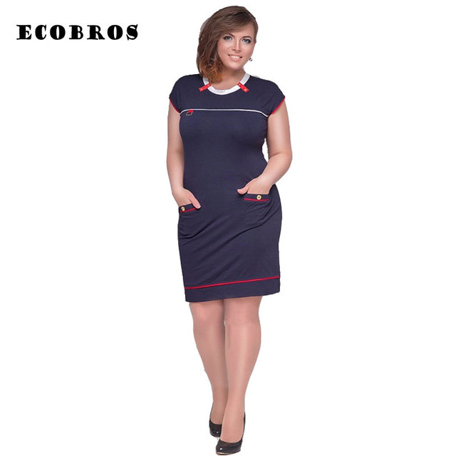 350e4f1ac96 Big size 6XL woman dress 2018 hot summer short Sleeve patchwork dresses  plus size fat MM women clothing 6xl dress free shipping