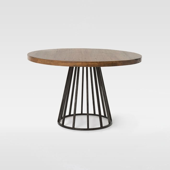Nordic Ikea Grande Table Ronde Continental Bois Rond Salle À
