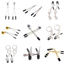 14style Erotic Toy Gold Chain Fetish Nipple Clamps Clips Shaking Milk Stimulate For Couple Breast Clips Exotic Accessories cheap CN(Origin) WOMEN Accessories Set Bell Nipple Clamp Adult Games Pair 0 03kg (0 07lb ) 1cm x 1cm x 1cm (0 39in x 0 39in x 0 39in)