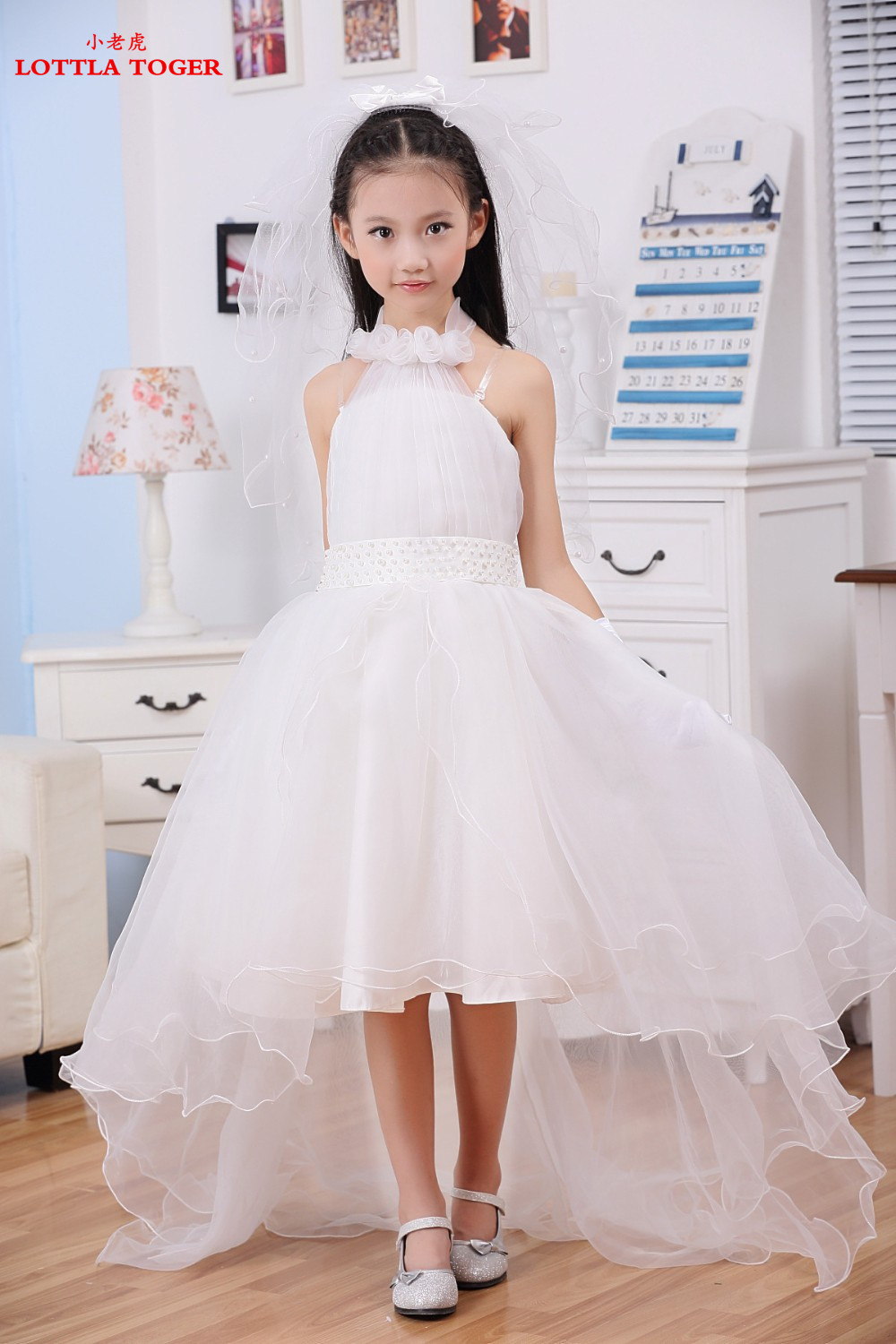 Online buy wholesale bridal flower girl from china bridal for Wedding dresses for child