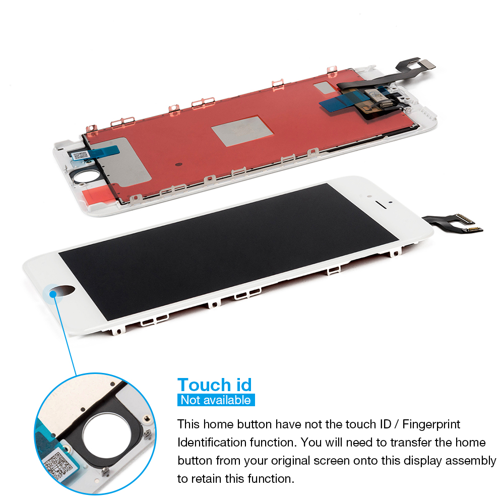 10PCS AAA Quality Tested LCD Screen For iPhone 6s Plus LCD Display Touch Digitizer Assembly Apple i Phone 6sp 6splus Replacement in Mobile Phone LCD Screens from Cellphones Telecommunications
