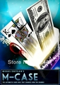 2014 new M-Case DVD and Gimmick by Mickael Chatelain / close-up CARD  magic trick produsts / bicycle card case / free shipping