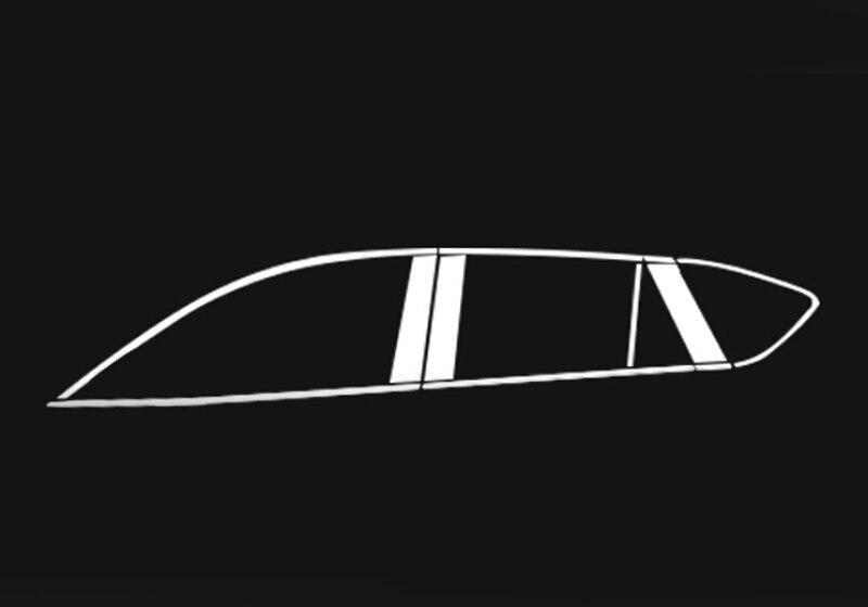 Full Window Trims + Pillar Window Trim For Mazda CX 5 CX5 2013 2014 2015