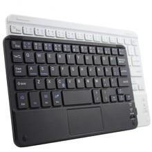 Портативные мини беспроводные Bluetooth клавиатуры с тачпадом универсальные для всех 7 10 дюймов Android планшет для iPad смартфонов