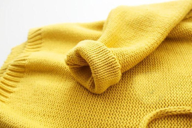 English Yellow Autumn Collections | Hooded pullover Sweater for Toddlers