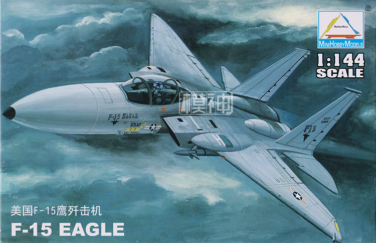1: 144 Us Air Force F - 15 Eagle Fighter Military Aircraft Assembled Model Fighter 80420