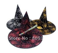 Wholesale Bar Masqueradesupplies Powder Witch Hat Hat Free Shipping
