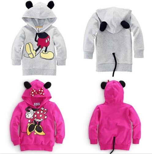 Unikids Baby Girls Boys 3D Autum Tops Hoodie Sweatshirt Coat Outwear